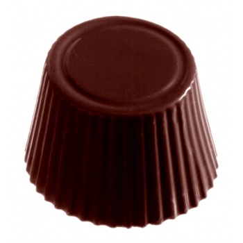 Polycarbonate Chocolate Mold Candy Cups Mold - Ø 30x19 mm - 4x8 pc - 14 gr - 275x175x26 mm