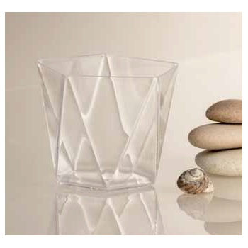 Clear Penta Plastic Verrine Cups - 72 x 56 mm - Cap. 120 ml - 100pcs