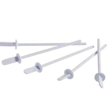 White Plastic Cake Pops Sticks - 128 x 15 mm - 400pcs