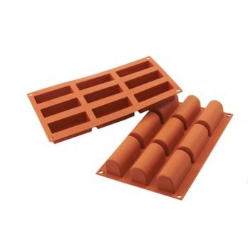 Silikomart Silicone Molds - Logs 84 x 32 x 35 mm - 83 ml - 9 Cavity