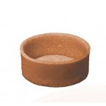 Chocolate Mini Round Straight Edges Sweet Butter Tartlets - 1.5'' - 245 pcs