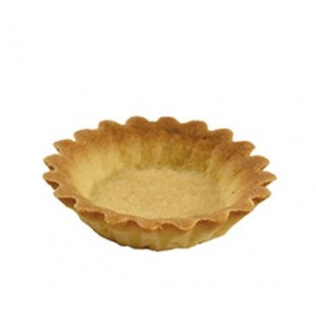 "Mini Butter Tart Shell Tartlet Neutral Mini - 1.75"" - 216 pces"