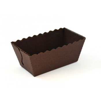 Easy Bake Brown Individual Mini Cakes 80 x 40 x 40 mm - Pack of 25