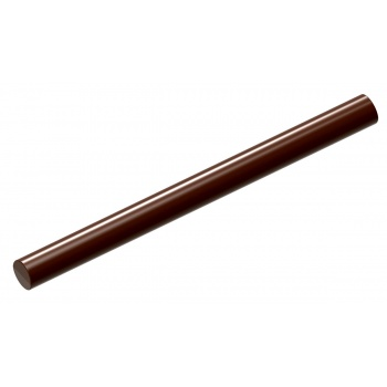 Polycarbonate Chocolate Long Skinny Rounded Smooth Snack Bar 120 x 9.50 x 5 mm - 2 x 5 gr - 1 x 7 Cavity - 275 x 135 x 24 mm