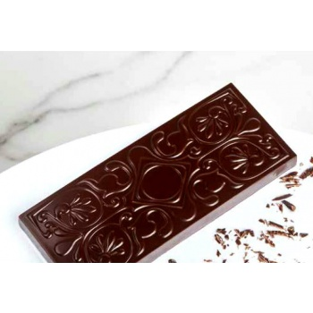 Polycarbonate Chocolate Rounded Bubble Mold by Andrey Dubovik 36.50x27.50x16.50 mm - 10.5 gr - 3 x 7 Cavity - 275 x 135 x 24 mm
