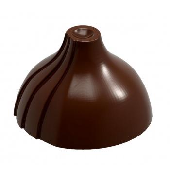 Polycarbonate Chocolate Pointy Dome Mold by SHIGEO HIRAI 28 x 9 mm - 7 gr - 3 x 6 Cavity - 275 x 135 x 24 mm