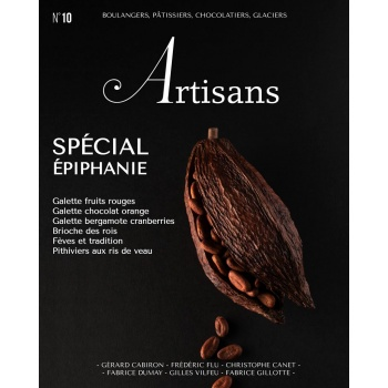ARTISANS n°10 Boulangers, pâtissiers, chocolatiers, glaciers - Stephane Glacier - French