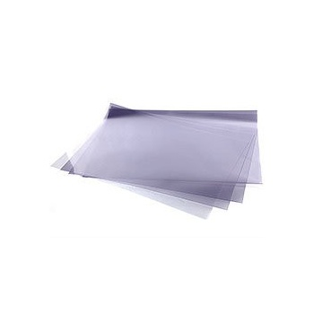 Clear HEAVY Acetate Rhodoid Sheets  - 16'' x 24'' - 150 Microns - Pack of 100