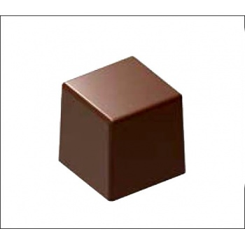 Polycarbonate Chocolate Mold Square Pyramid - 25x25x25 mm -11 gr - 3x8 cav -135x275x30mm
