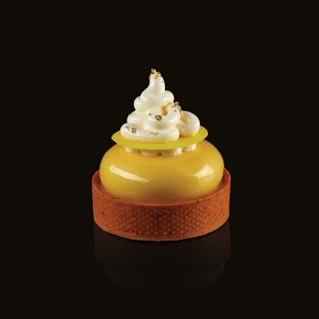Pavoflex Round Tart Tops Silicone Molds ROUND - Ø 60 x 20 mm - 8 Cavity - 48 ml - 300 x 175 mm