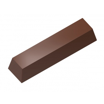 Magnetic Polycarbonate Chocolate Mold Square Bar - 48 x 12 x 9 mm - 4x4 pc - 275x135x24 mm