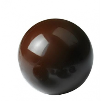 Polycarbonate Chocolate HALF SPHERE Mold 12.5 cm  - 2 Cavity -