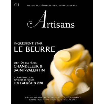 ARTISANS n°11 Boulangers, pâtissiers, chocolatiers, glaciers - Stephane Glacier - French