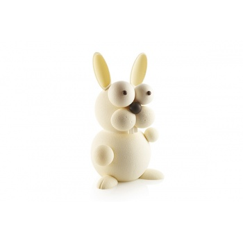 Silikomart  Thermoformed KIT BUNNY Rabbit Chocolate Mold by Raúl Bernal -  140 x 150 x 256 mm