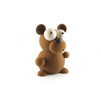 Silikomart Thermoformed KIT TEDDY Bear Chocolate Mold by Raúl Bernal - 40 x 161 x 210 mm