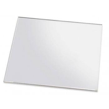 Cristal Clear Smooth Edgeless Acrylic Sheet 23 3/4''x 15 3/4''x 1/4''