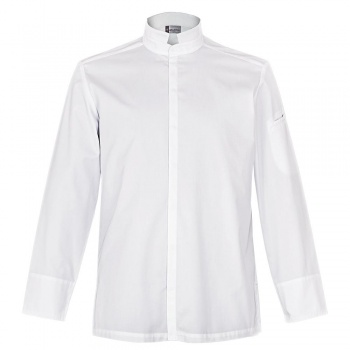 Men's ADDICT Chef's Jacket -Long Sleeve (Black or White)