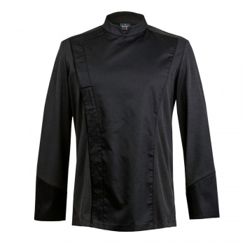 Men's C-ONE Chef's Jacket -Long or Short Sleeve (Black or White)