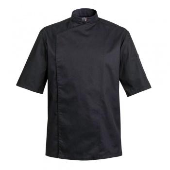Men's FIRENZE Chef's Jacket - Long or Short Sleeves  (Black or White)