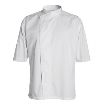 Men's MADISON Chef's Jacket -Long or Short Sleeve (White)