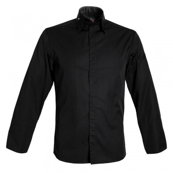 Men's MILANO Chef's Jacket - Long Sleeve (Black or White)