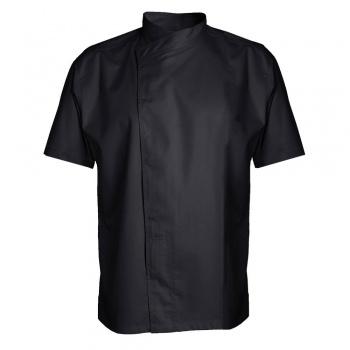 Men's MURANO Chef's Jacket - Long or Short Sleeve (Black)