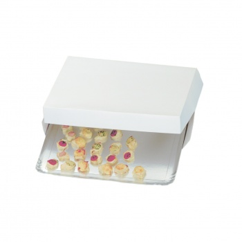 White Box for Catering Tray - 42.5cm x 28.5cm x 6cm - Pack of 25