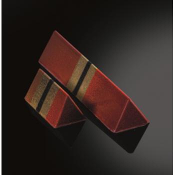 Polycarbonate Chocolate Praline Snack Bar Mold - Large Triangle - 96 x 22 x 17mm 23ge - 10pcs