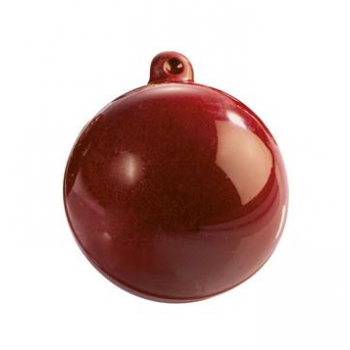 Christmas Decoration Thermoformed Chocolate Molds - Christmas Bulb - 60mm 39gr