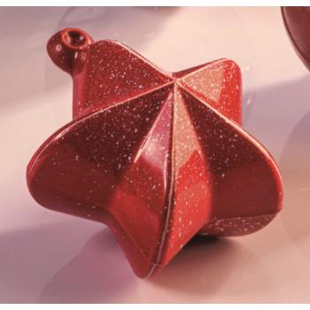 Christmas Decoration Thermoformed Chocolate Molds - Christmas Bulb - 60mm 39gr
