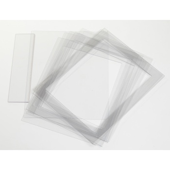 Polycarbonate Ganache Frames - Set of 8 - 440x350x3mm outside 360x270x3mm inside