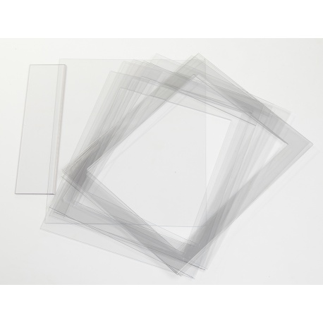 Polycarbonate Ganache Frames - Set of 8 - 440x350x3mm outside 360x270x3mm inside