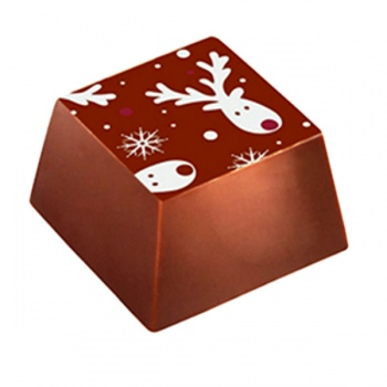 Chocolate Transfer Sheets - Reindeer - 123x263mm - 60 sheets