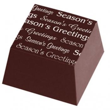 Chocolate Transfer Sheets - Seasons Greetings - 123x263mm - 60 sheets