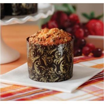 Paper Muffin / Cupcake Pannetone High Style 2 3/4''x2'' - 50pcs