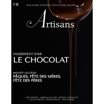 ARTISANS n°12 Boulangers, pâtissiers, chocolatiers, glaciers - Stephane Glacier - French