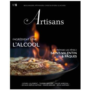 ARTISANS n°16 Boulangers, pâtissiers, chocolatiers, glaciers - Stephane Glacier - French