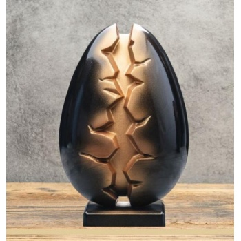 Pavoni Thermoformed ABYSS by Davide Comaschi EGG Mold - Ø 140 ×  215 mm - Weight ~ 390 g  - 2 kit / box