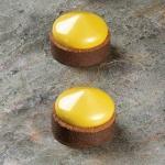 Pavoflex Round Tart Tops Silicone Molds FRISBEE- Ø 60 x 28 mm - 8 Cavity - 48 ml - 300 x 175 mm