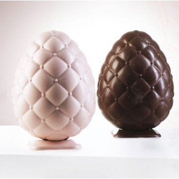 Thermoformed Chocolate Easter Mold - Ø115 h 155 mm ~230 gr - Set of  2