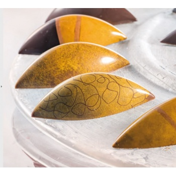 Polycarbonate Chocolate Praline Mold - 54 x 24 x 16 mm - 21 pcs ~ 9 gr