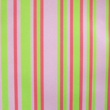Chocolate Transfer Sheets - Spring Fantasy Stripes - 123 x 263 mm - 20 sheets