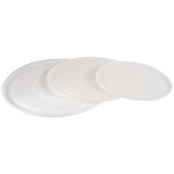 Matfer Bourgeat Lid for  White Polypropylene Hemispherical Bowl 7 1/2""