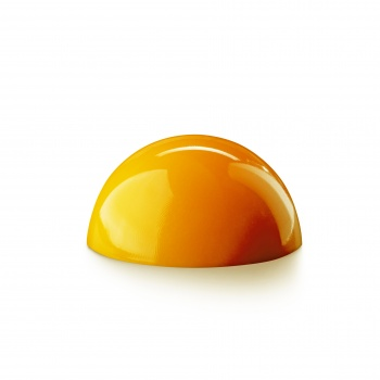 INTUITION Colored Cocoa Butter by Jérôme Landrieu - Orange Zest - 7oz - 200 gr.