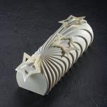 Pavoni Professional Entremet Log Silicone Mold - COMET - 250 x 88 x 73 mm - 1230 ml