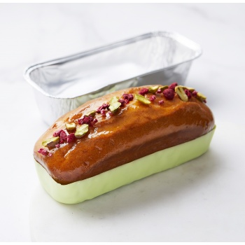 Aluminum Disposable Loaf Pan  - 193 x 72 x 50 mm - 550 ml - Pack of 100