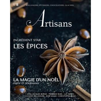 ARTISANS n°18 Boulangers, pâtissiers, chocolatiers, glaciers - Stephane Glacier - French