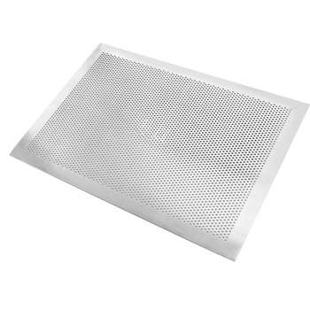 Flat with no edge Perforated Aluminum baking tray - 30 cm x 40 cm