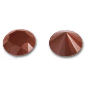 Chocolate Decoration Diamond Jewel Polycarbonate Molds- 37.8 h 26.4 - 275x135 - 9 + 9 cavity