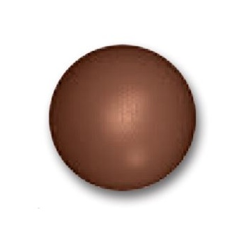 Chocolate Round Basketball Polycarbonate Mold - 220mm - 260x260